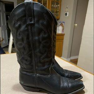 Black Capezio cowboy boots size 8